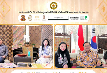 Indonesia's First Integrated Batik Virtual Showcase in Korea